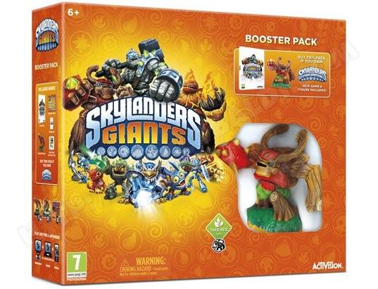 Skylanders Giants Booster Pack sur PS3, XBOX 360, WII ou 3DS ( Autre pack voir description)