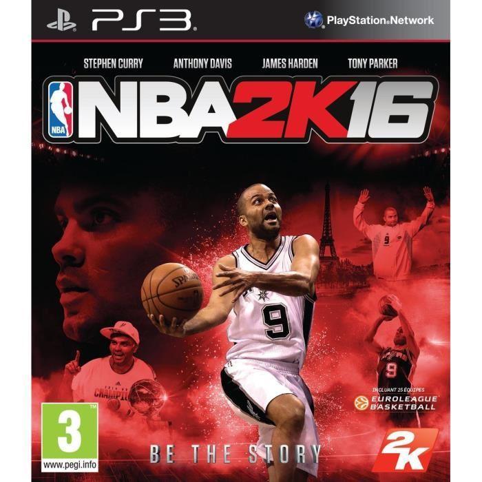 [Cdiscount à Volonté] NBA 2K16 sur PS3