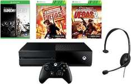 Console Xbox One 1To + Rainbow Six Siege + Rainbow Six Vegas 1 & 2