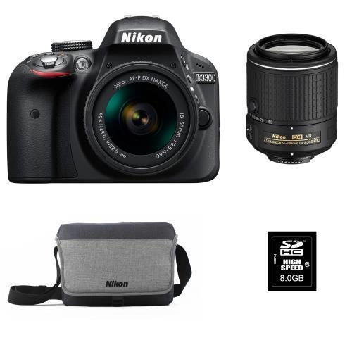[Adhérents] Pack Reflex Nikon D3300 + 2 objectifs + 1 sac Nikon + Carte SD