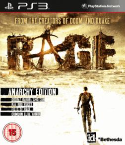 PS3 - Jeu Rage : Anarchy edition (Seulement en anglais) - Frais de port compris