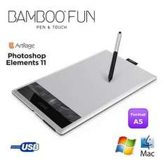 tablette graphique Wacom Bamboo Fun Pen&Touch M