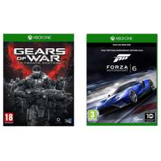 Jeux Gears of War: Ultimate Edition + Forza Motorsport 6 sur Xbox One