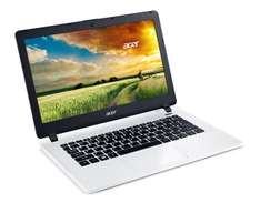 "PC Portable 13""  Acer Aspire ES1-331-P3J3  Blanc (Intel Pentium, 4 Go de RAM, Disque Dur 1 To, Windows 10)"