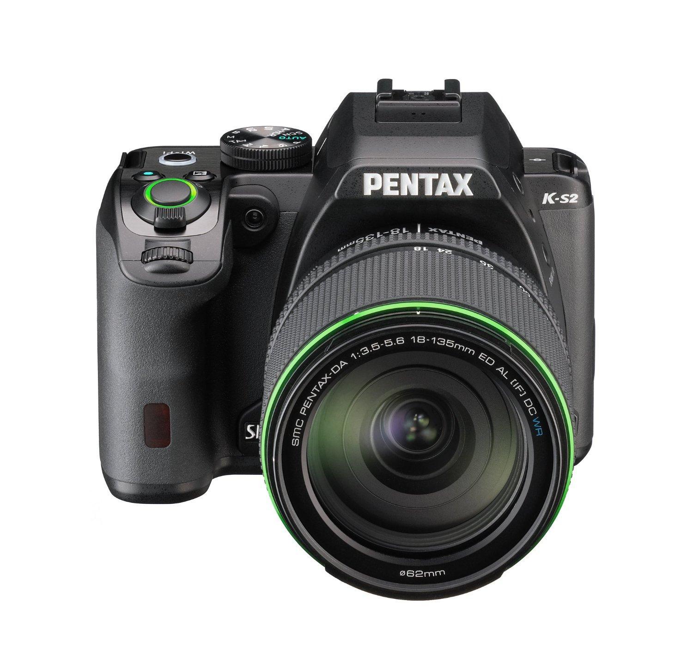 Appareil photo reflex Pentax K-S2 - 20 Mpix, Wi-Fi + objectif Pentax 18-135 mm