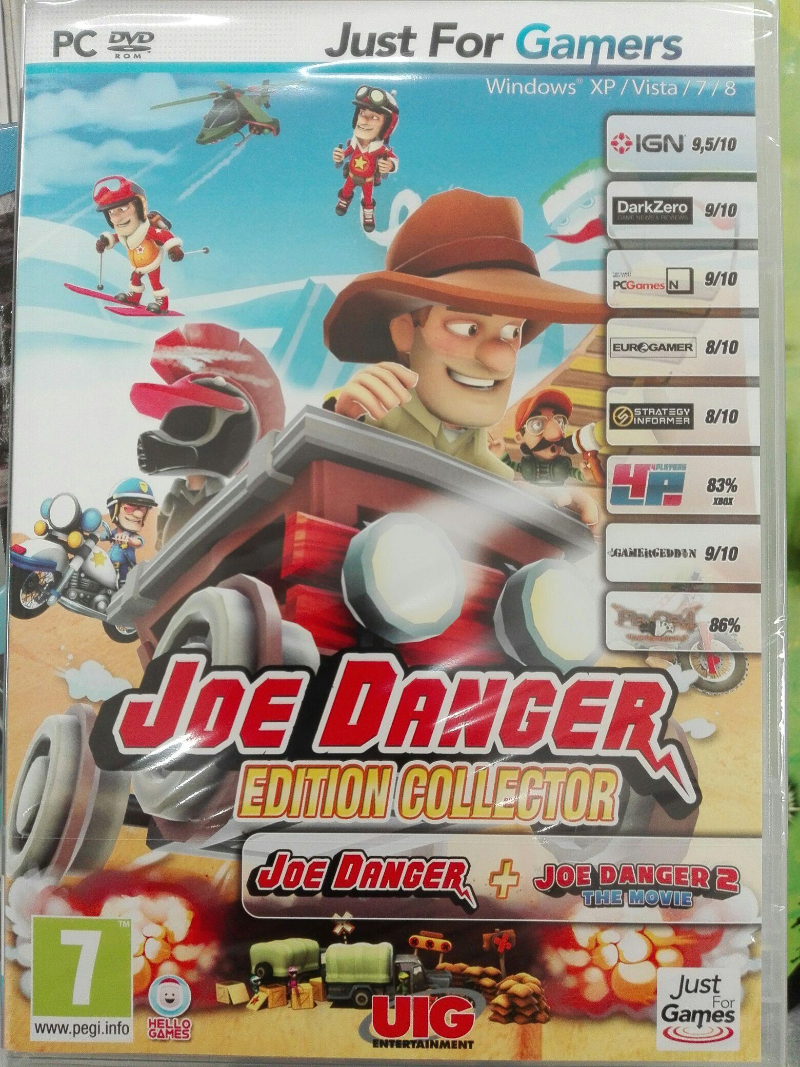 Pack Joe Danger + Joe Danger 2: The Movie sur PC