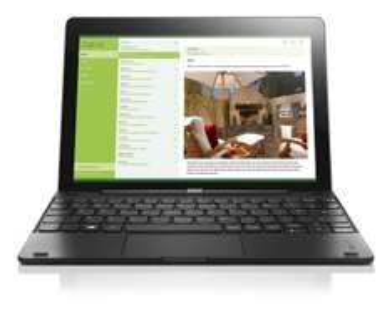 "Tablette PC 10.1"" Lenovo IdeaPad Miix 300 avec Clavier QWERTY"