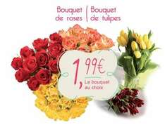 Bouquet de 10 tulipes ou de 10 roses