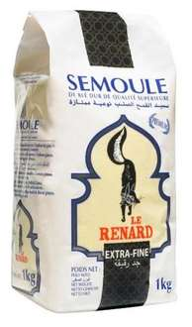 Paquet de Semoule et Couscous Le Renard 1kg offert (via Shopmium)
