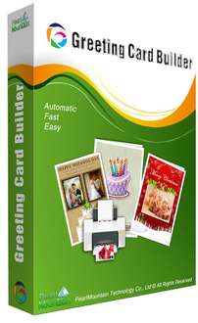 Logiciel Greeting card builder gratuit