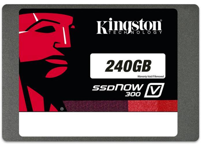 "SSD 2.5"" Kingston SSDNow V300 (Mémoire MLC) - 240 Go"