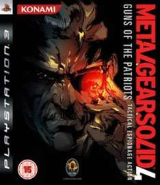 Metal Gear Solid 4: Guns of the Patriots sur PS3
