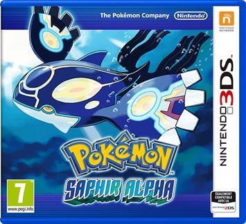 Pokémon saphir Alpha sur Nintendo 3DS
