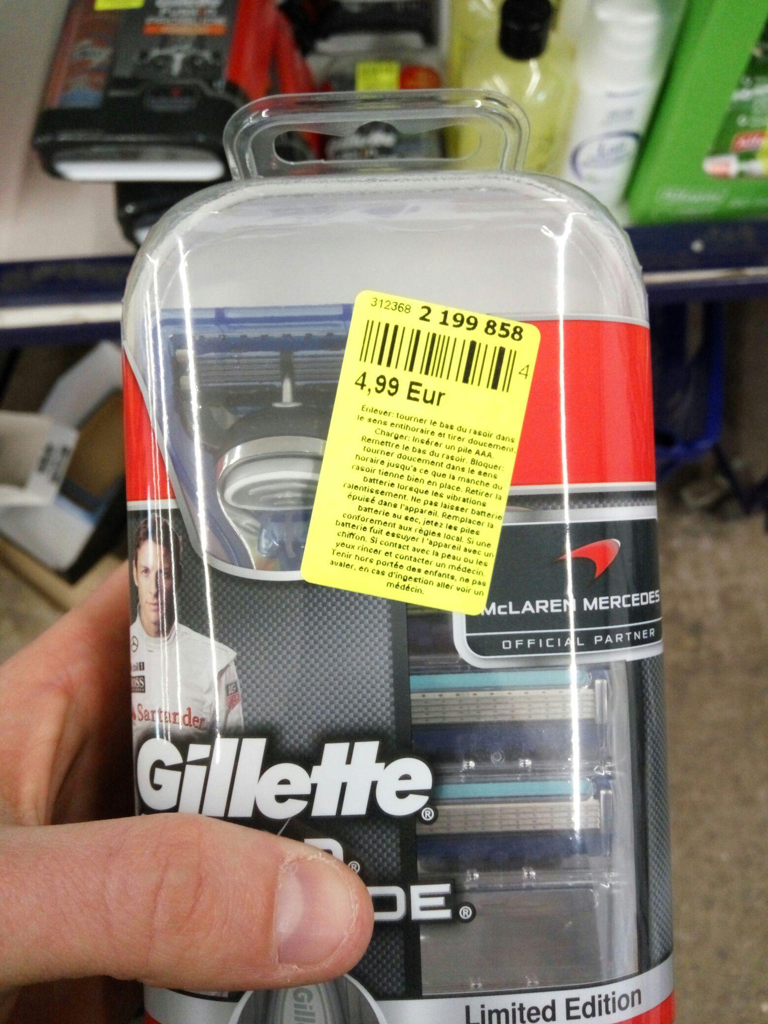 Sélection de produits Gillette - Ex : pack rasoir Gillette Fusion Proglide - édition limitée