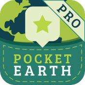 Pocket Earth Pro Offline Maps gratuit sur iOS (au lieu de 4.99€)