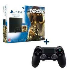 Pack Console PS4 1To + Far Cry Primal + 2ème manette
