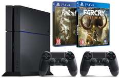 Pack PS4 1To + Far Cry Primal + Fallout 4 + 2ème manette