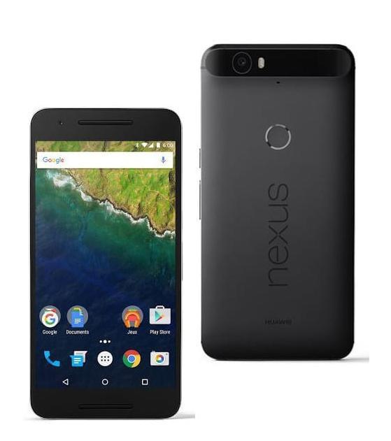 """Smartphone 5.7"""" Huawei Nexus 6P + Batterie de secours - 128Go à 649€ et 32Go"""