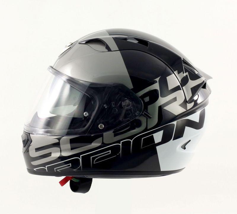 Casque moto intégral Scorpion Exo1200 air Quaterback