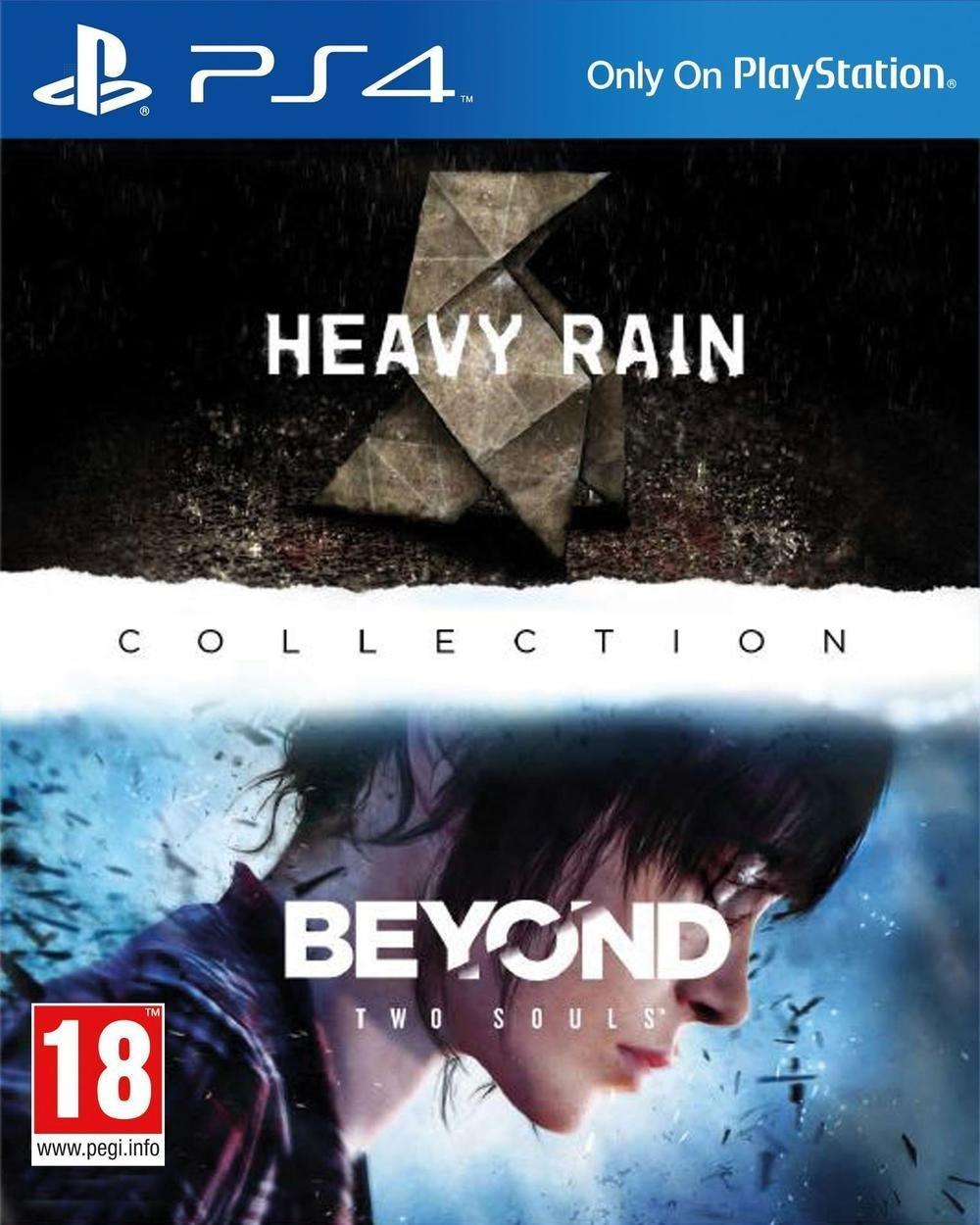 Heavy Rain + Beyond Two Souls sur PS4 à 34.03€ (livraison incluse) en ligne et
