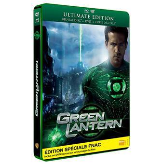 Green Lantern - Combo Blu-Ray + DVD Ultimate - Edition Spéciale Fnac (Offre adhérents)