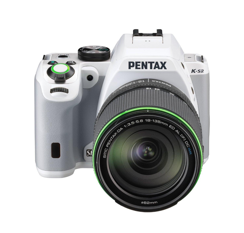 Appareil photo reflex numérique Pentax K-S2 - 20 Mpix Wi-Fi HDMI USB Blanc + Objectif 18-13 5mm WR