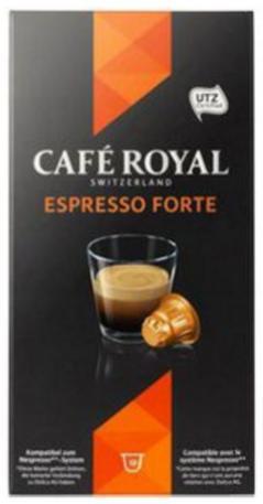 2 Paquets de 10 capsules Café royal (via 2 BDR)