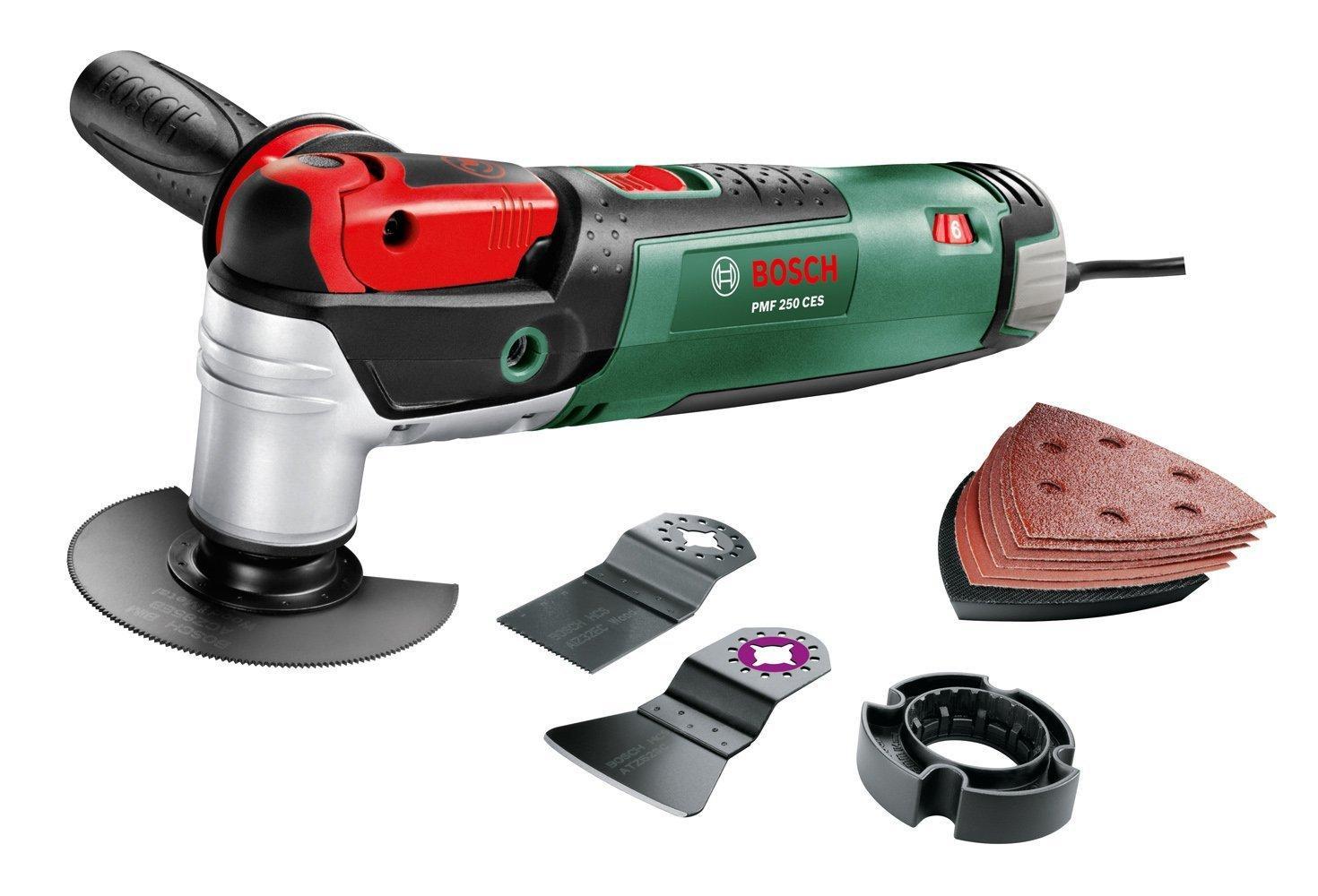 """Outil multifonction Bosch """"Expert"""" PMF 250 CES avec coffret"""