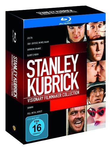 Coffret Stanley Kubrick - Visionary Filmmaker Collection (8 Blu-Ray 7 Films) - Import Allemand avec VF sur tous les films