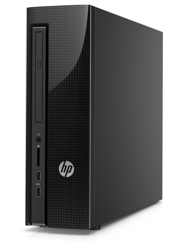 Unité centrale HP 450-a121nf Noir - AMD A6-6310 1.8 Ghz, RAM 8 Go, HDD 1 To, Windows 10