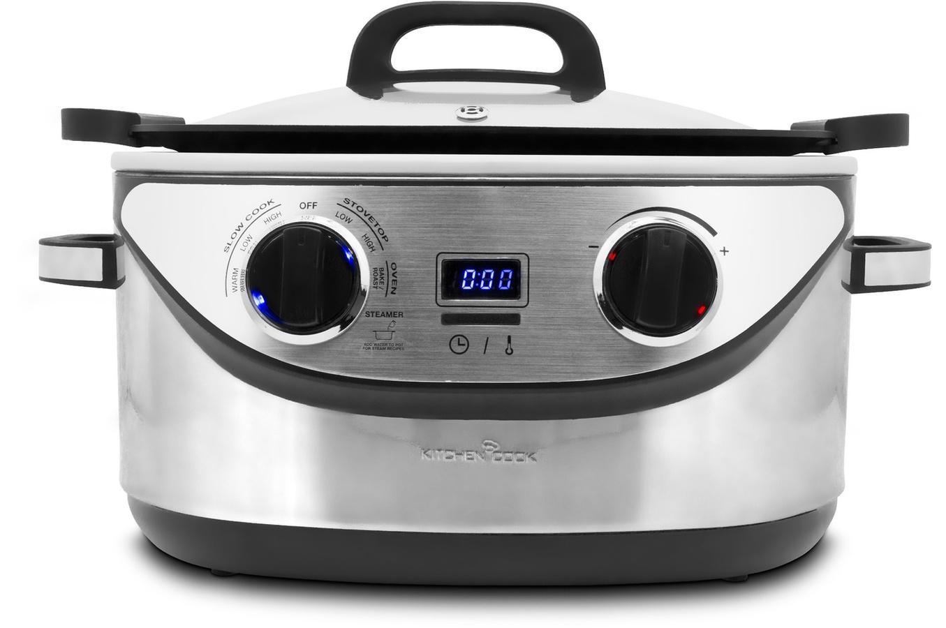 Multicuiseur 8 en 1 KitchenCook Cookotte en inox