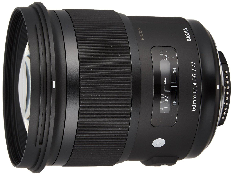 Objectif Sigma 50mm f1.4 DG HSM Art Lens pour Nikon