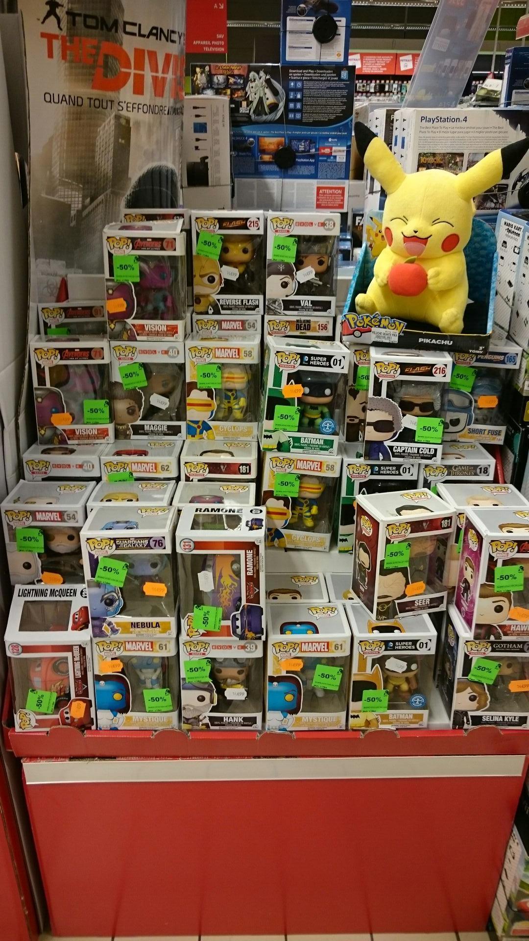 50% de réduction immédiate sur une sélection de figurines Funko Pop