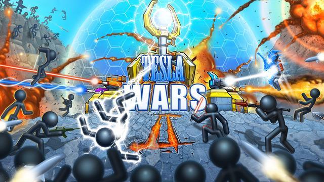 Jeu Tesla Wars II gratuit sur iOS (au lieu de 1,99€)