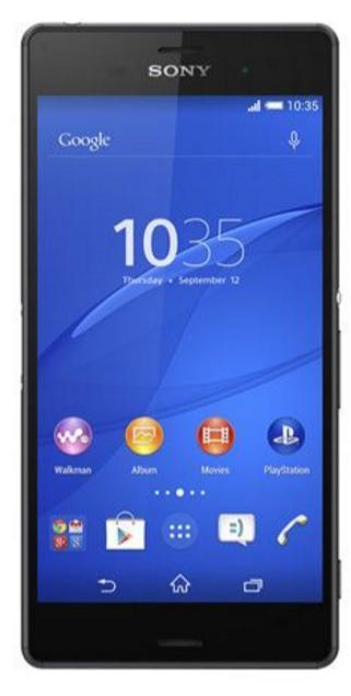 "Smartphone 5.2"" Sony Xperia Z3 - 16Go, Noir"