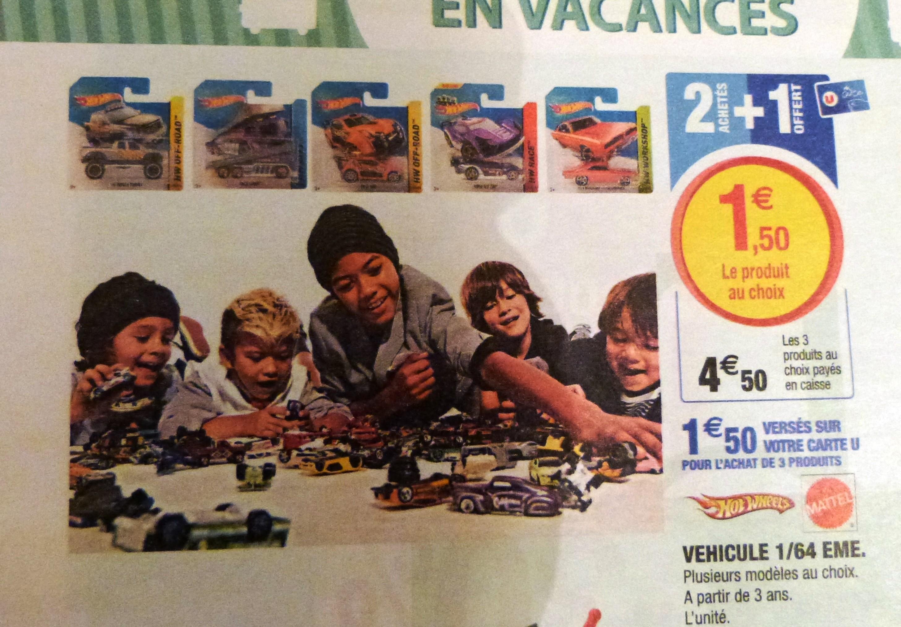 Sélection de Véhicules Miniatures Hot Wheels 1/64