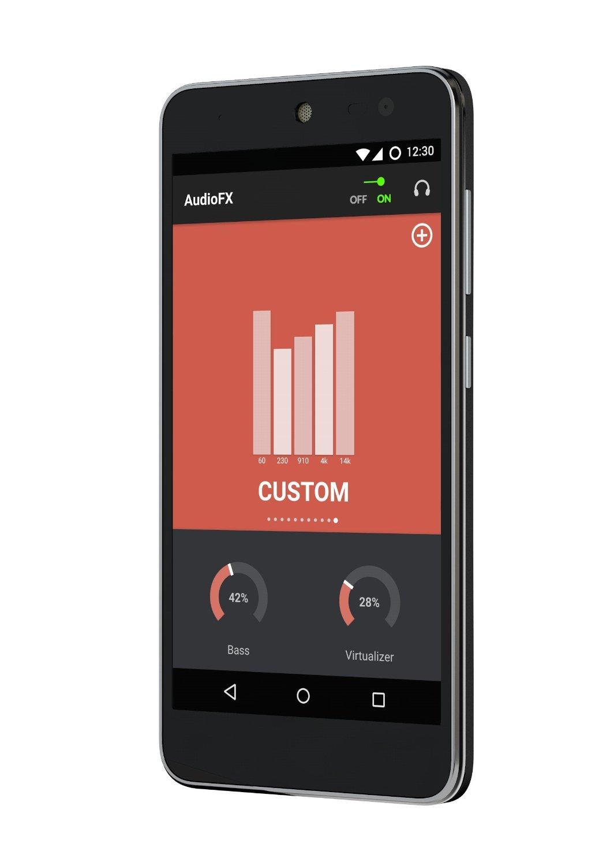 "Smartphone 5"" Wileyfox Swift - 16 Go, double-SIM, noir"