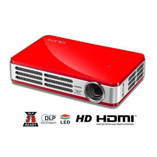 Mini vidéoprojecteur Vivitek Qumi Q5 rouge - 720p
