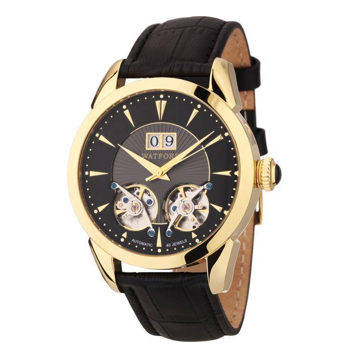 Sélection de montres Watfort en promotion - Ex :Montre Automatique Carlton Homme