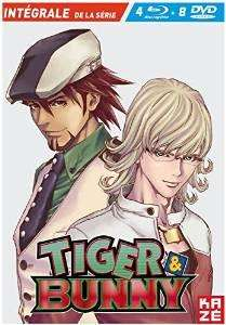 Intégrale Combo Collector 4 Bluray + 8 Dvd  Tiger and Bunny