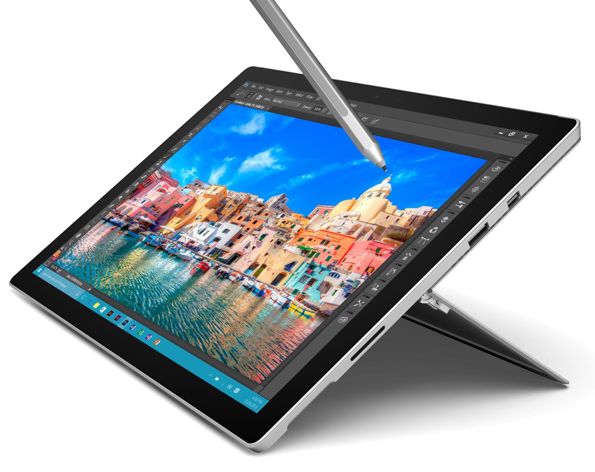 "Tablette 12.3"" Microsoft Surface Pro 4 (i7-6650U, 8 Go de RAM, 256 Go)"