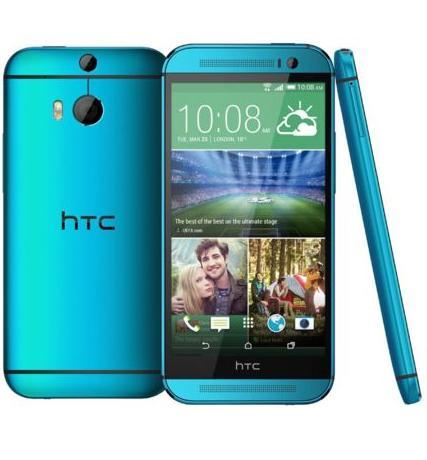 """Smarpthone 5"""" HTC One M8s - bleu, 16 Go (via ODR de 100€)"""