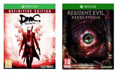 Resident Evil: Revelations 2 ou DmC Devil May Cry - Definitive Edition sur Xbox One