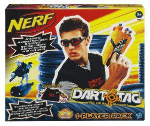 Pistolet Nerf Dart Tag Pack (avec lunettes et gilet)