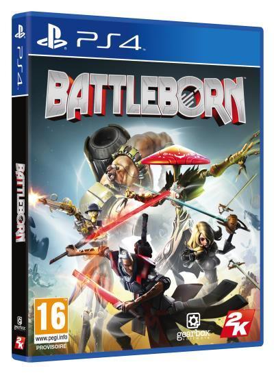 Précommande : Jeu Battleborn sur PS4, Xbox ou PC + 1 Figurine aléatoire