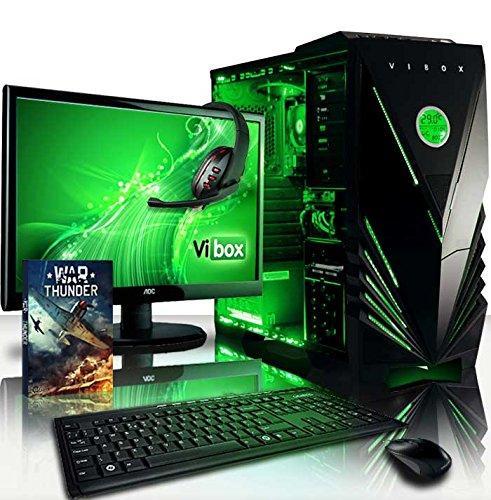 "Pack PC gamer (A8-7600, Radeon R7, 32 Go de RAM, 1 To, sans OS) + écran 21,5"" AOC"