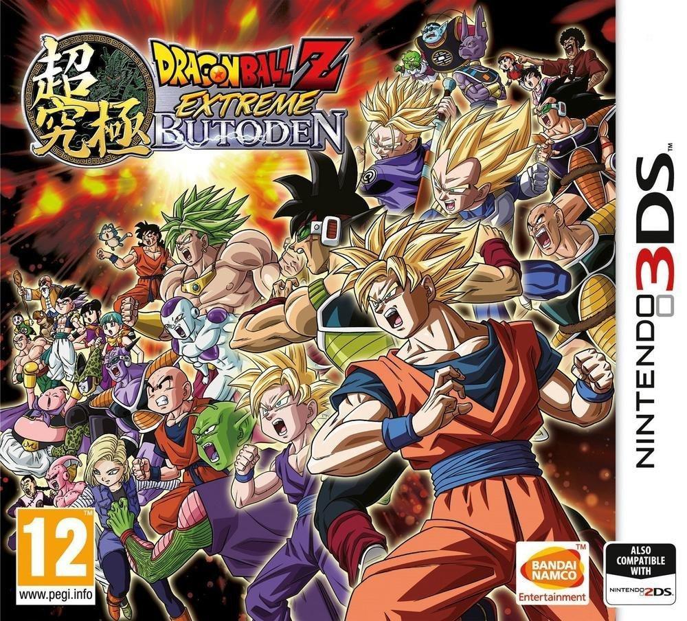 Jeu Dragon Ball Z Extreme Butoden sur 3DS