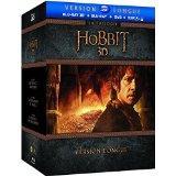 Coffret Blu-ray + 3D + DVD + Numérique : La trilogie Le Hobbit - Version longue