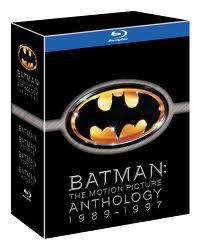 Coffret Blu-ray Batman Anthology 1989-1997 Import Uk (4 Films)
