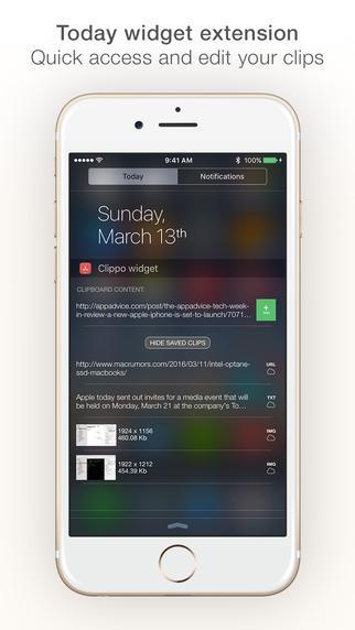 Application Clippo gratuite sur iOS (au lieu de 1.49€)